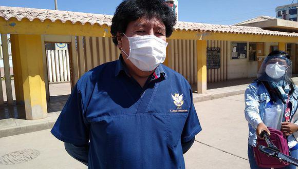 Juliaca: Director de Red de Salud San Román indica que médicos no quieren atender a pacientes COVID-19 (Foto: captura de pantalla)