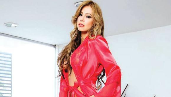 Actriz porno Esperanza Gómez responde preguntas a través de su canal en YouTube. (Creactivo Audiovisual)