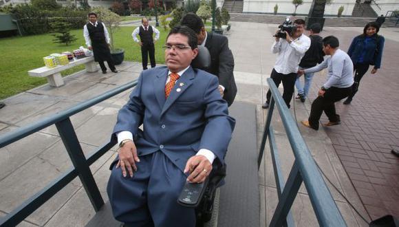 EN CAPILLA. Michael Urtecho deberá rendir cuentas de su gestión, desde el año 2006 hasta la fecha. (Martín Pauca)