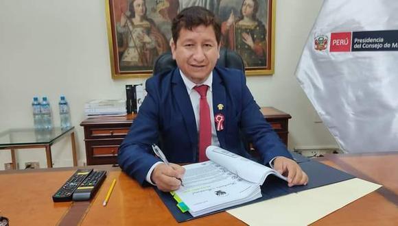 Guido Bellido, el primer ministro del gobierno de Pedro Castillo, es investigado por terrorismo. (Foto: Guido Bellido/Facebook)
