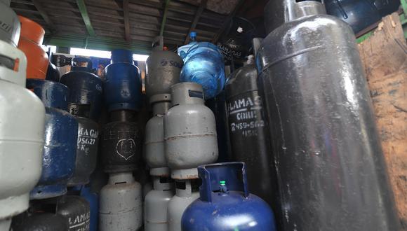 El informe de la variación de precios de venta al público del balón de gas comprendió a 1,412 locales a nivel nacional. (Foto: GEC)
