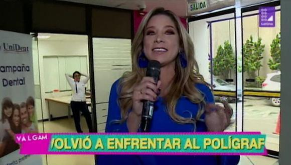 """Sofía Franco apareció en """"Válgame Dios"""" y podría ser el reemplazo de 'Peluchín' y Gigi Mitre. (Foto: Captura)"""