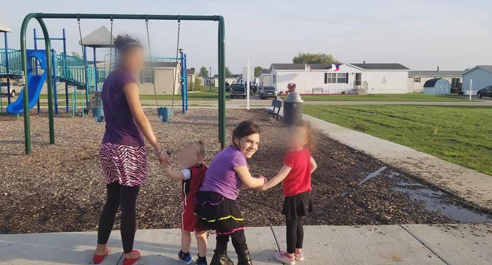 Natalia, la 'niña' ucraniana fue adoptada por una nueva familia.