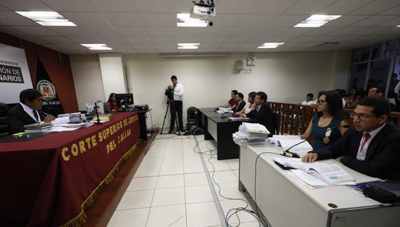 Audiencia de pedido de prisión preventiva del caso Solsiret Rodríguez. (Foto Piko Tamashiro / GEC)