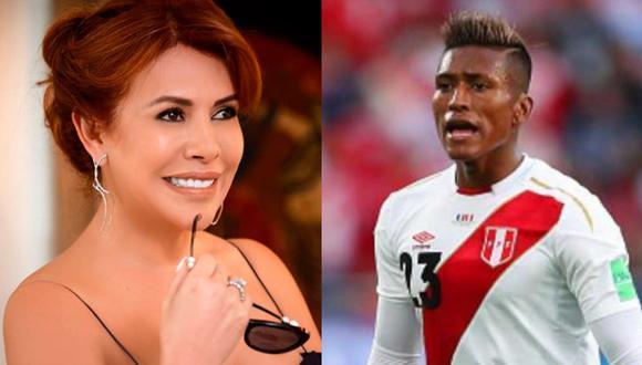 Magaly Medina reveló hace poco una proposición que el futbolista Pedro Aquino le hizo a la modelo Xoana González pese a encontrarse casado. (Composición).