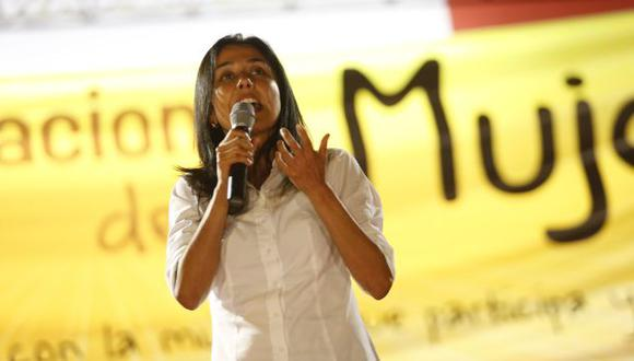 Nadine Heredia firmó el pronunciamiento del Partido Nacionalista. (USI)