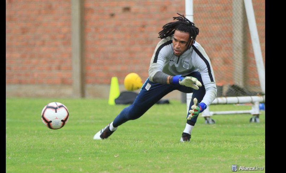 Pedro Gallese retornó a los entrenamientos de Alianza Lima. (Foto: Alianza Lima)