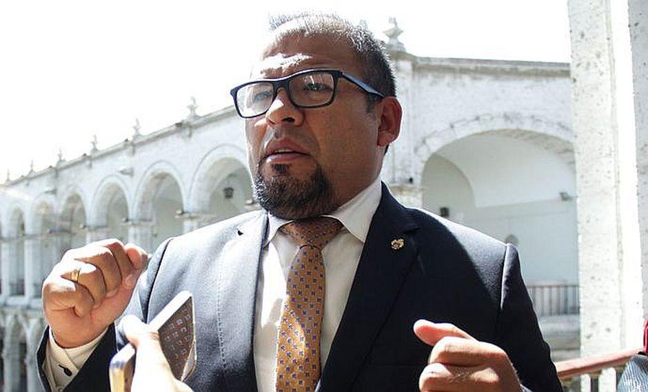 El burgomaestre Omar Candia fue sentenciado por colusión agravada. (GEC)