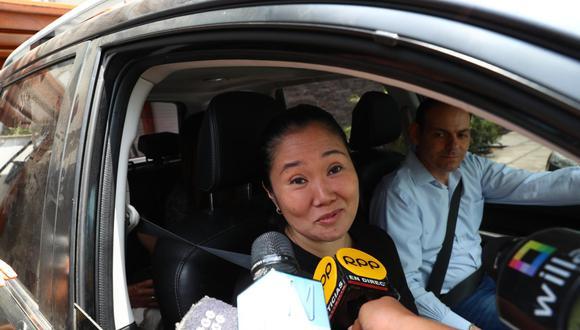 Keiko Fujimori realizó encuentros familiares en estos días (GEC).