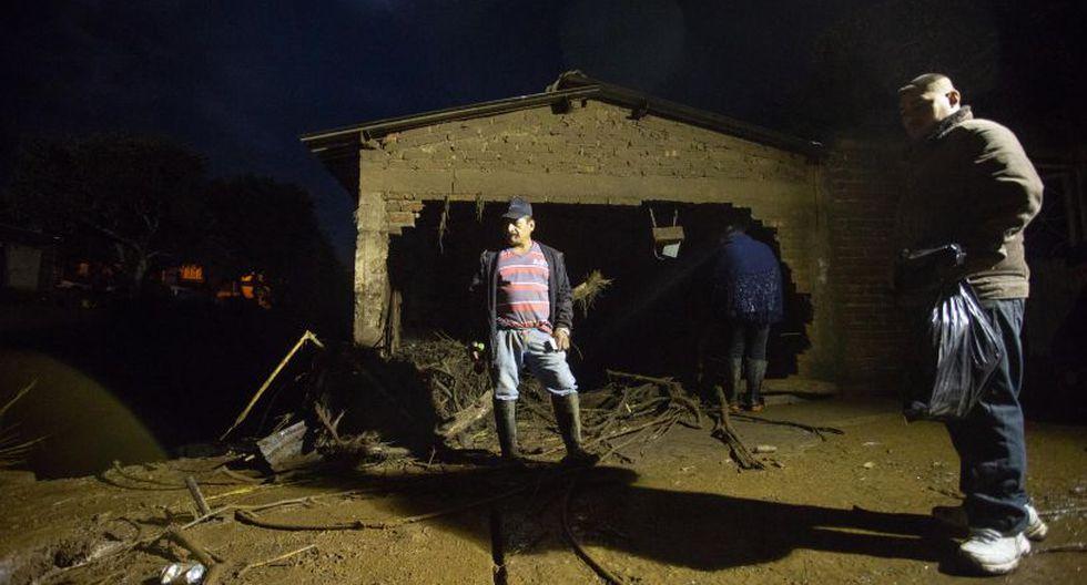 La semana pasada, estas fuertes lluvias afectaron al estado de Sinaloa con al menos tres muertos y tres desaparecidos, y la declaración de emergencia en once municipios.   Foto: EFE