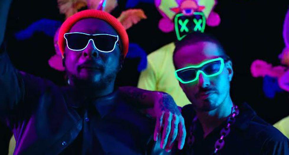 """J Balvin se unió a Black Eyed Peas para estrenar """"RITMO"""". (Foto: Captura de video)"""