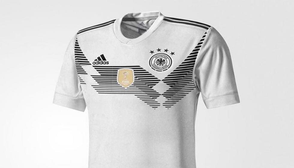 Estas son las camisetas que usarían algunos equipos durante el mundial Rusia 2018 (Footy Headlines)