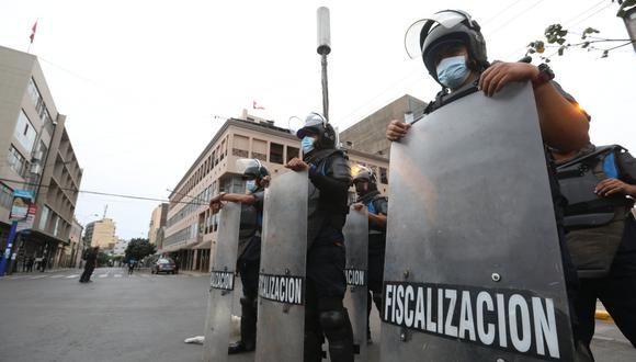 La Municipalidad de Lima indicó que reforzará el control de seguridad con 250 policías y 140 agentes de fiscalización.  (Foto: MML)