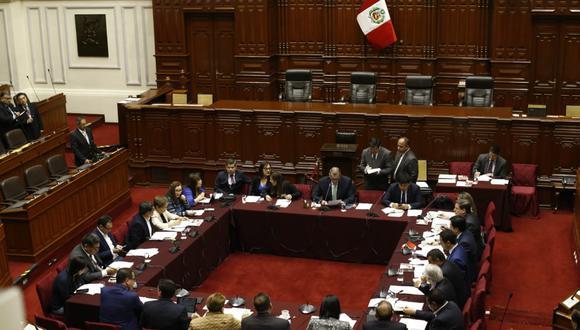 La Comisión Permanente sesionó hoy bajo la conducción de Pedro Olaechea. (Foto: GEC/ Renzo Salazar)