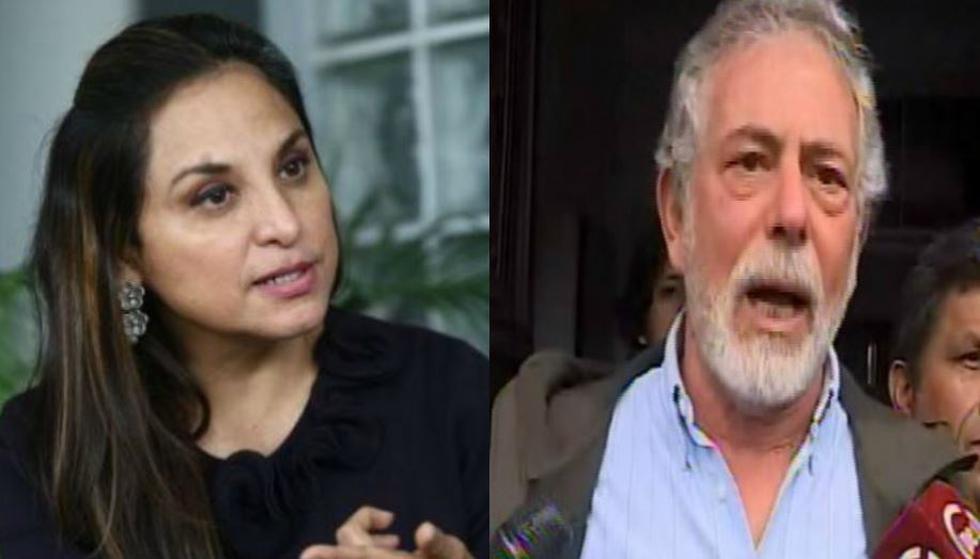 Rossana Cueva y Gustavo Gorriti anunciaron que no asistirán a citación del Congreso. (Composición)
