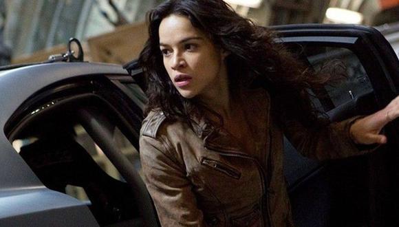 Hace unos meses la actriz estadounidense Michelle Rodriguez, quien ha interpretado a Letty Ortiz en la saga Fast