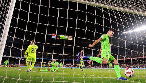 La presencia de Barcelona en cuartos de final de Copa del Rey podría correr peligro. (Foto: AFP)