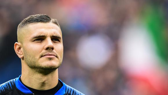Mauro Icardi tendría que dejar Inter de Milán. (Foto. AFP)