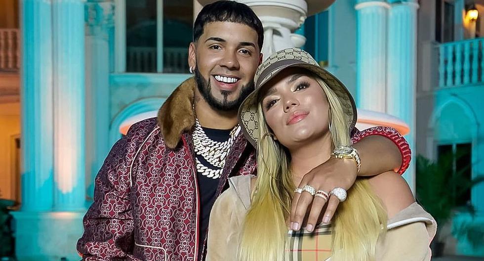 Karol G y Anuel AA confirmaron que mantenían una relación a mediados de noviembre del año pasado. (Foto: Instagram)