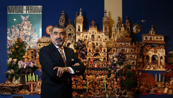 """""""""""Estimulado por el premio de los concursos, a veces el artesano hace hasta lo que no somos. Lo que no se puede globalizar es la cultura, nos hace distintos"""", declara Javier Luna (Jesús Saucedo/Perú21)."""