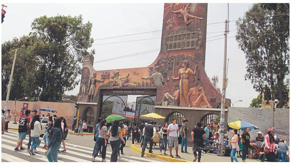 La Universidad Nacional de Trujillo (UNT) está en la mira de la Contraloría. (Foto: GEC)