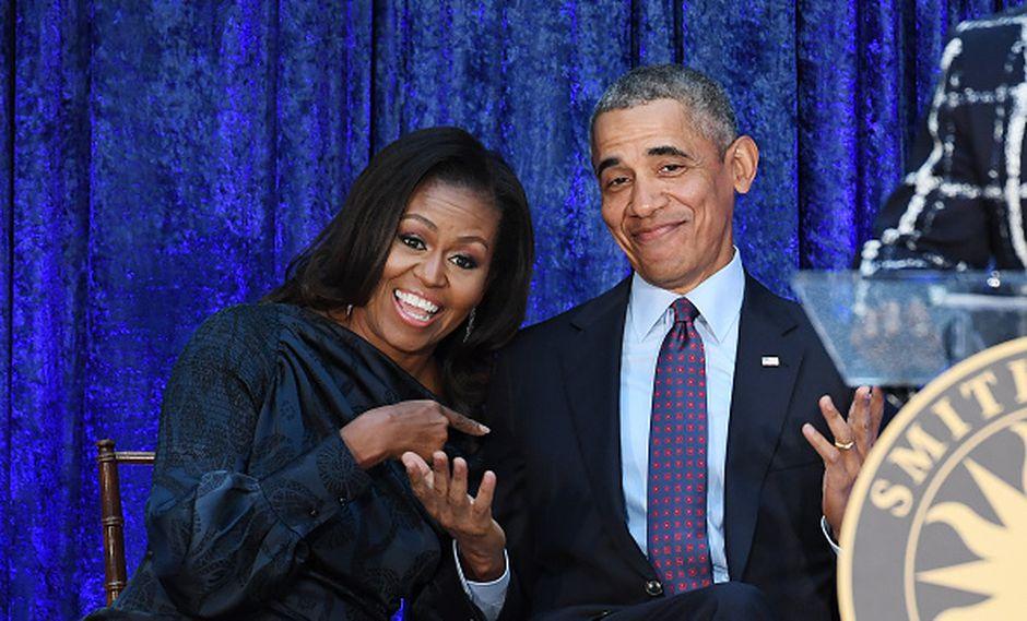 Hace un año se anunció el contrato multianual entre los Obama y Netflix para producir series y películas. (GETTY)