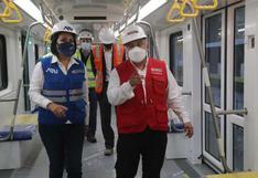 MTC inspecciona avance de la estación Hermilio Valdizán de la Línea 2 del Metro de Lima y Callao