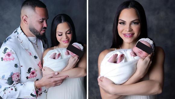 Natti Natasha mostró su felicidad por mostrar a su hija Vida Isabelle que no tiene ni un mes de nacida. (Foto: Instagram/ @nattinatasha).