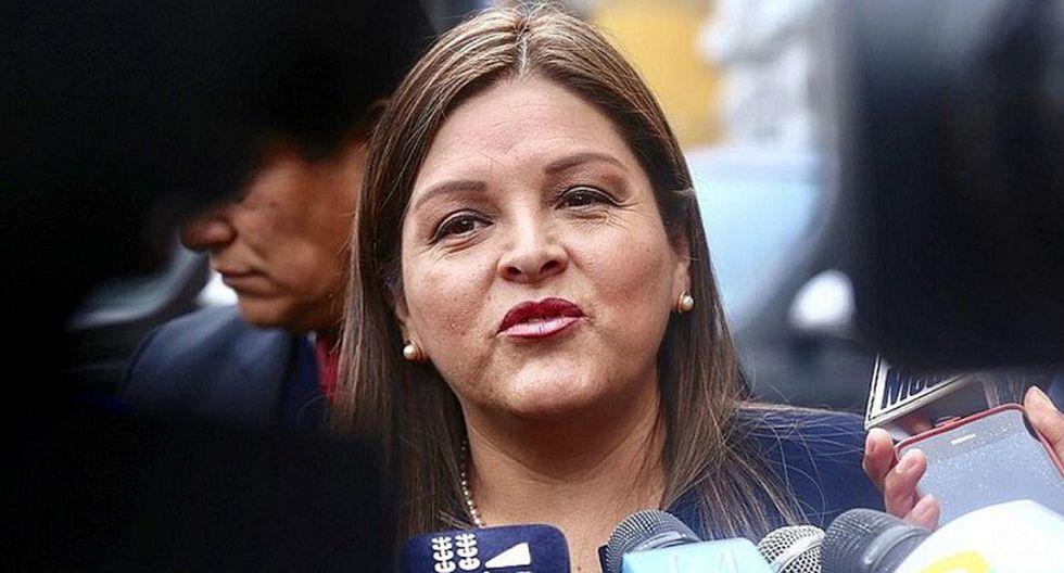Karina Beteta sostiene que fallo del TC  no respete la Constitución. (Foto: GEC)