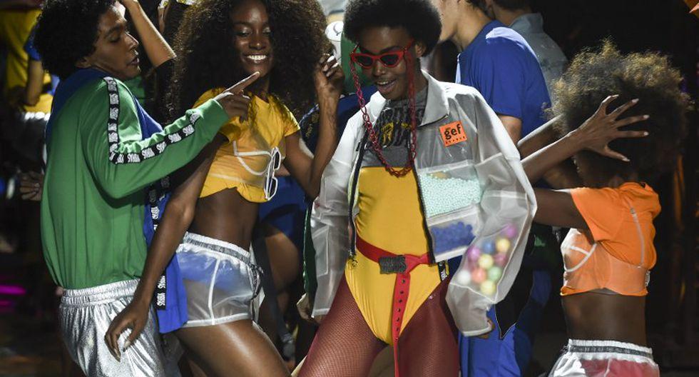 J Balvin colaboró en el diseño de una colección de moda.   AFP