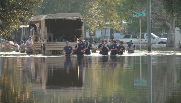 El fundador Gaudet dijo que actualmente existen al menos cuatro grupos que utilizan el nombre Cajun Navy. | Foto: Facebook / Cajun Navy