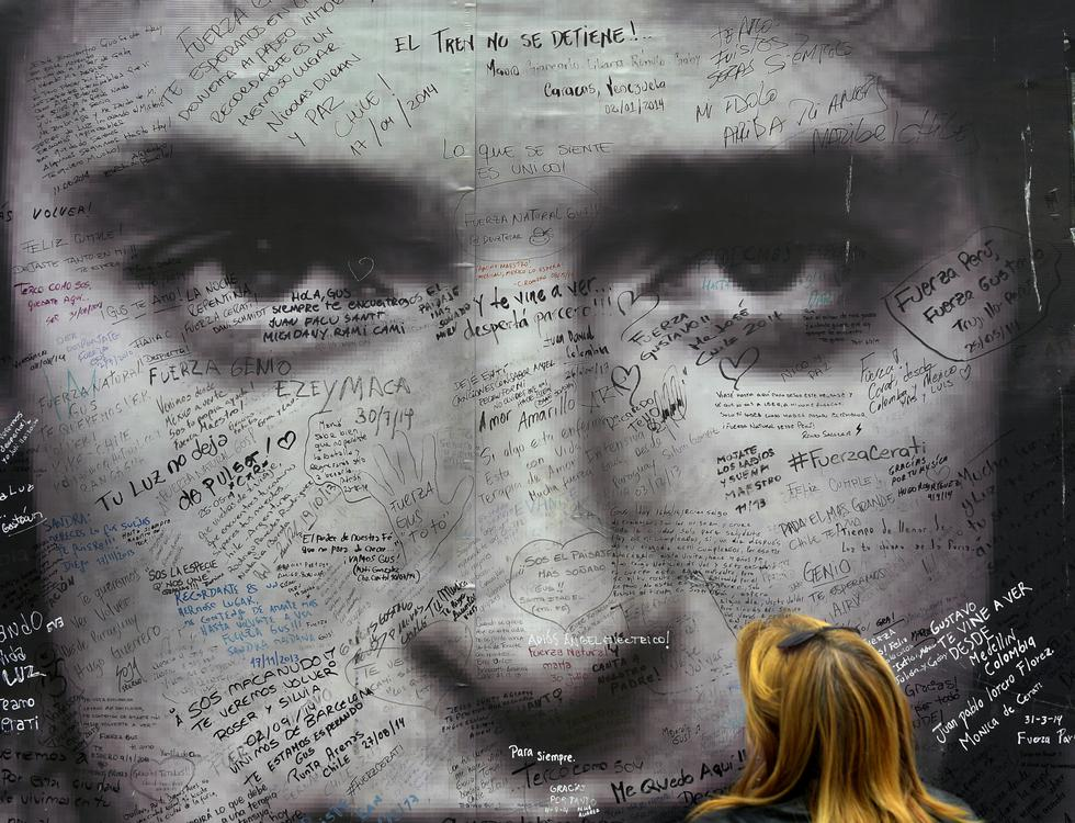 Hoy se cumple 4 años de la muerte de Gustavo Cerati. (Fotos: AFP)