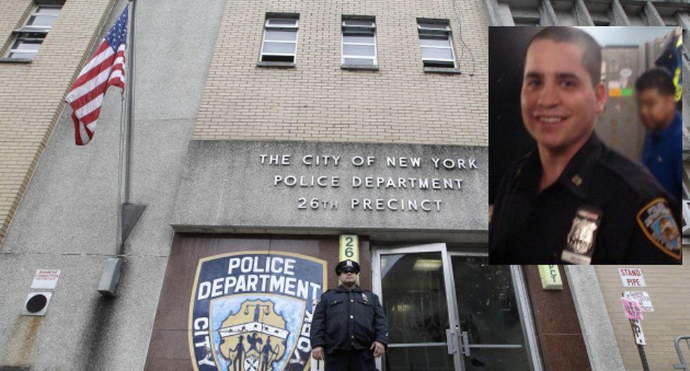 Valle trabajaba en el precinto 26 de la ciudad de Nueva York. (AP/NY Post)