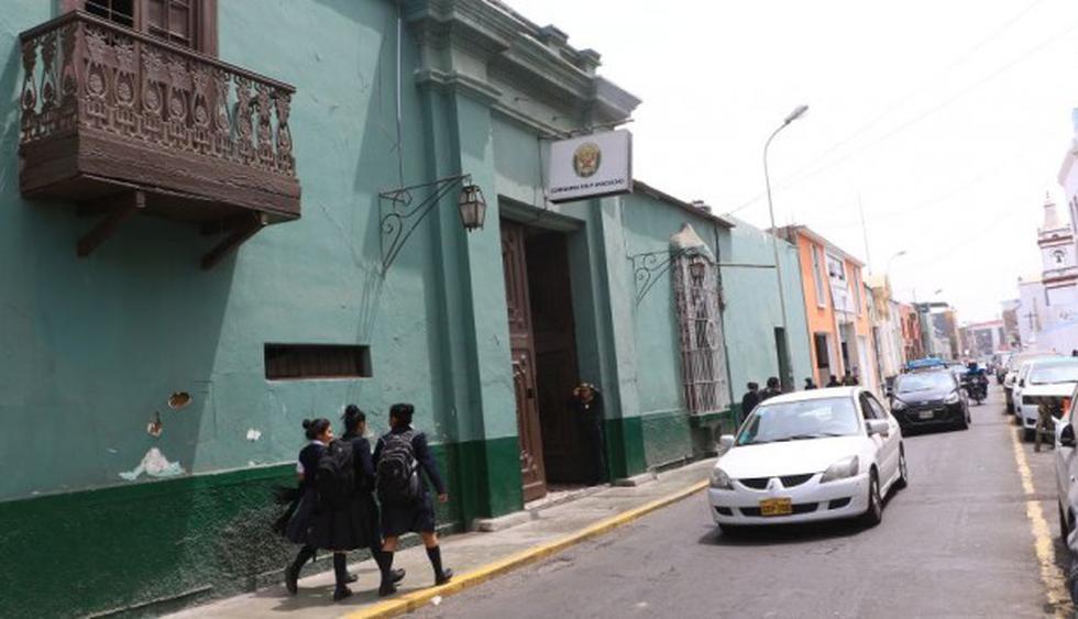 La comisaría en donde se registraron los hechos. (Foto: GEC)