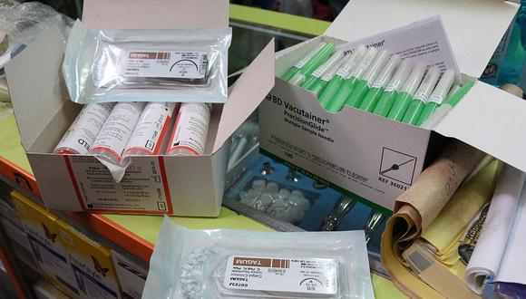 4 toneladas de medicamentos ilegales se incautaron en galería 'El Canchón' en Cercado de Lima. (Difusión)