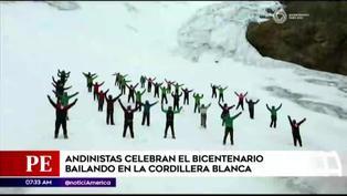 Áncash: montañistas y bailarines protagonizan reto #TusuriyChallenge en celebración al Bicentenario