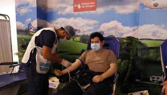 EsSalud reunió 4787 unidades de sangre durante campaña de donación (Foto: EsSalud)
