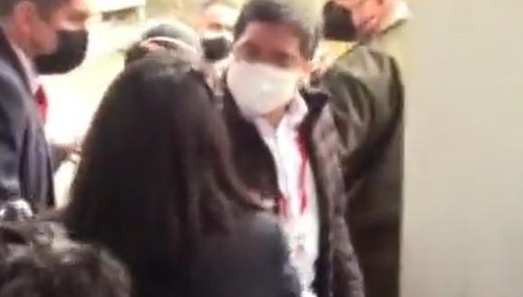 Franco Pomalaya es una persona muy cercana al presidente Pedro Castillo. (Captura de video RPP)