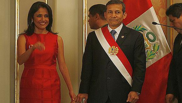 Para la oposición Nadine Heredia sigue siendo la jefa del gabinete en funciones. (Mario Zapata)