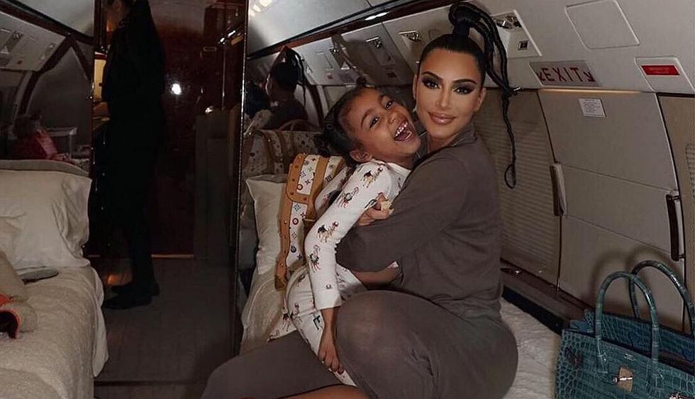 Kim Kardashian enternece las redes con una tierna fotografía familiar. (Foto: @kimkardashian)