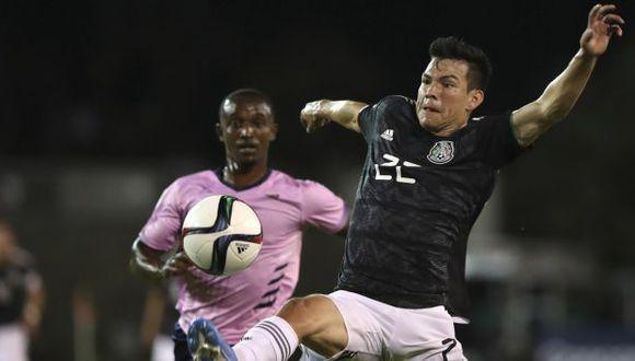 México vs. Panamá: chocan por la Liga de Naciones de Concacaf en Ciudad de México. (Foto: AFP)