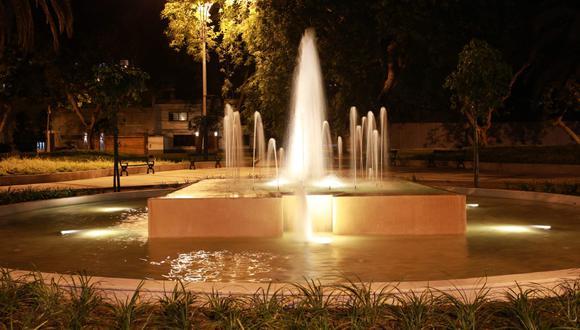 Las fuentes ornamentales ubicadas en San Isidro no habían recibido adecuado mantenimiento en años anteriores.