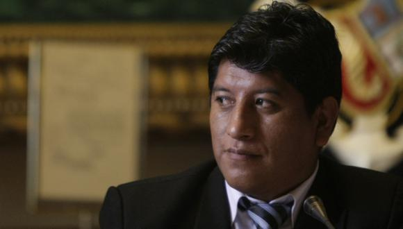 Josué Gutiérrez ya no pedirá censura de Juan José Díaz Dios.  (Rafael Cornejo)