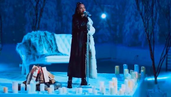 """Natti Natasha estrenó """"Princesa"""", canción dedicada a su hija escrita por Romeo Santos. (Foto: Captura)"""
