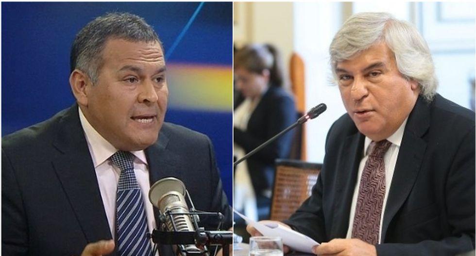 Wilber Medina y Fernando Olivera tuvieron una confrontación en set de radio (Twitter/GEC).