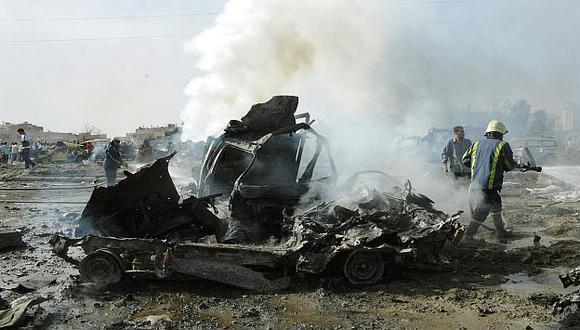Ataques suicidas en Damasco. (Reuters)
