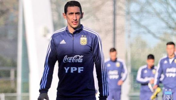 Ángel Di María no jugará ante Venezuela ni Marruecos por lesión. (Foto: Selección de Argentina)