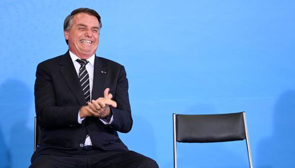 Jair Bolsonaro se encuentra en la mira por vetar ley de normas de seguridad. Según el ejecutivo, falta aclaraciones sobre las sanciones.  (Foto: EVARISTO SA / AFP)
