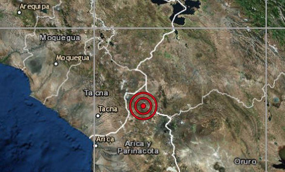 No se reportaron víctimas ni daños materias a causa del temblor. (Foto: IGP)