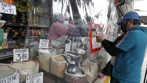 La variación acumulada de precios al séptimo mes del año se situó en 3,18%. (Foto: César Campos / GEC)